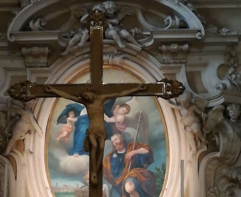 san rocco carmagnola particolare chiesa