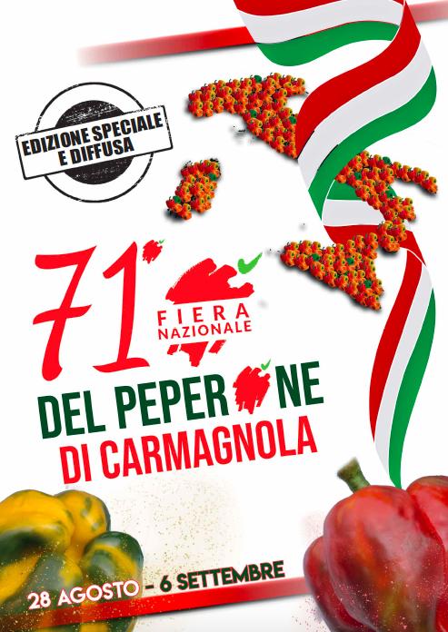 Fiera del Peperone 2020 Carmagnola copertina