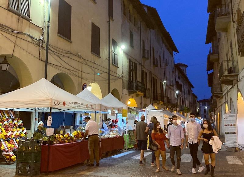 Fiera del Peperone di Carmagnola 2020 foto Francesco Rasero chiusura anticipata dei locali