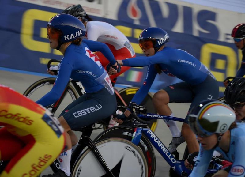 Valentina Basilico medaglia bronzo Europei ciclismo femminile 2020