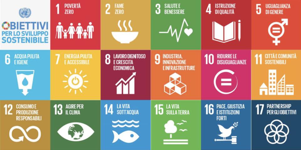 obiettivi di sviluppo sostenibile città metropolitana torino
