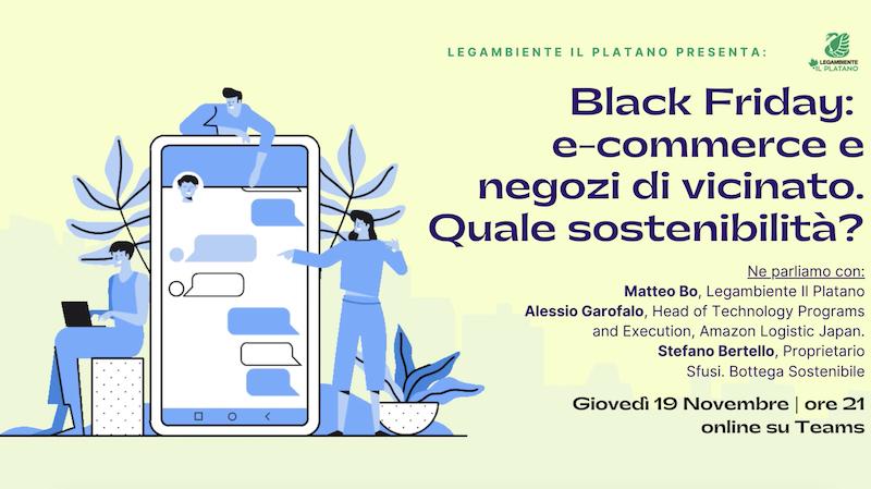 black friday e sostenibiità