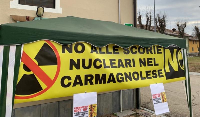 raccolta firme nucleare