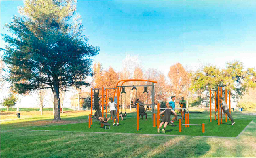 Area Fitness parco Cascina Vigna Carmagnola