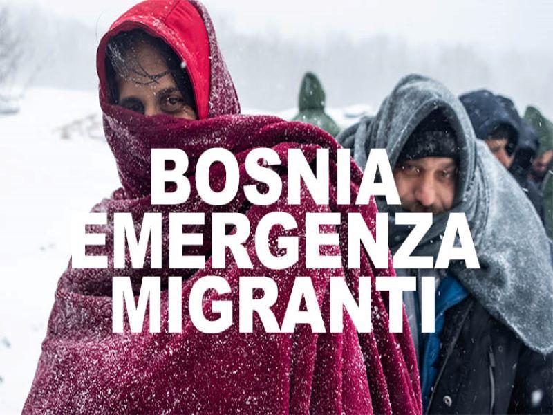 migranti in bosnia
