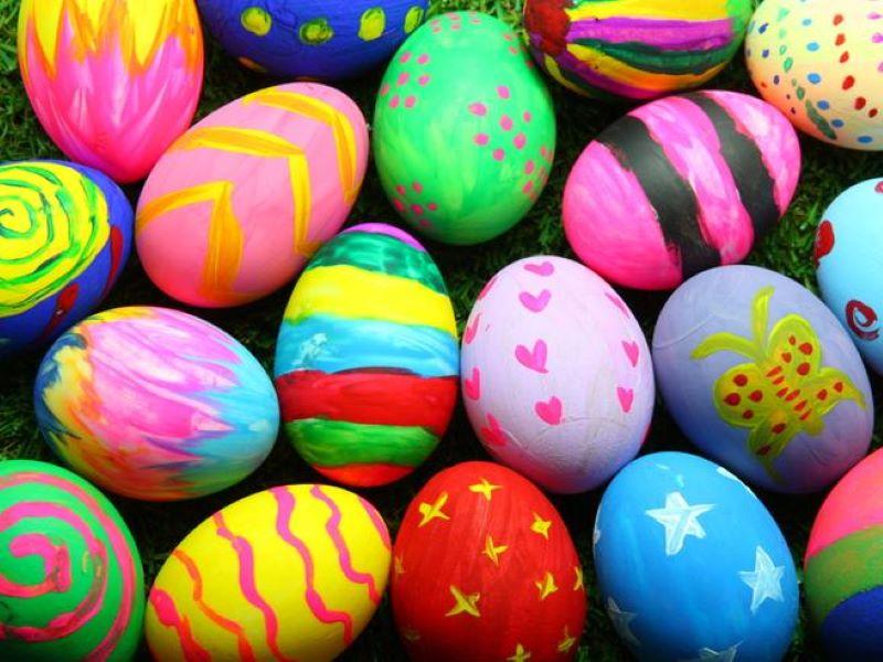 castagnole uovo di Pasqua