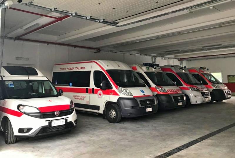nuova ambulanza cri carmagnola
