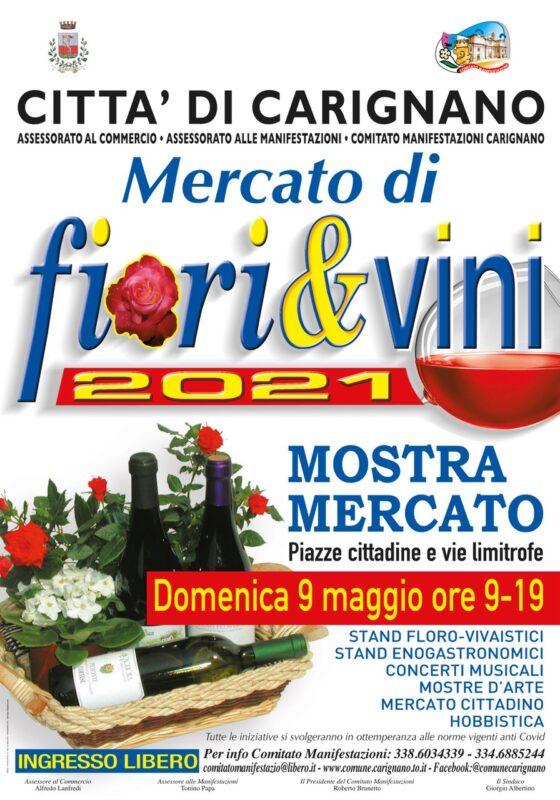 mercato fiori vini carignano