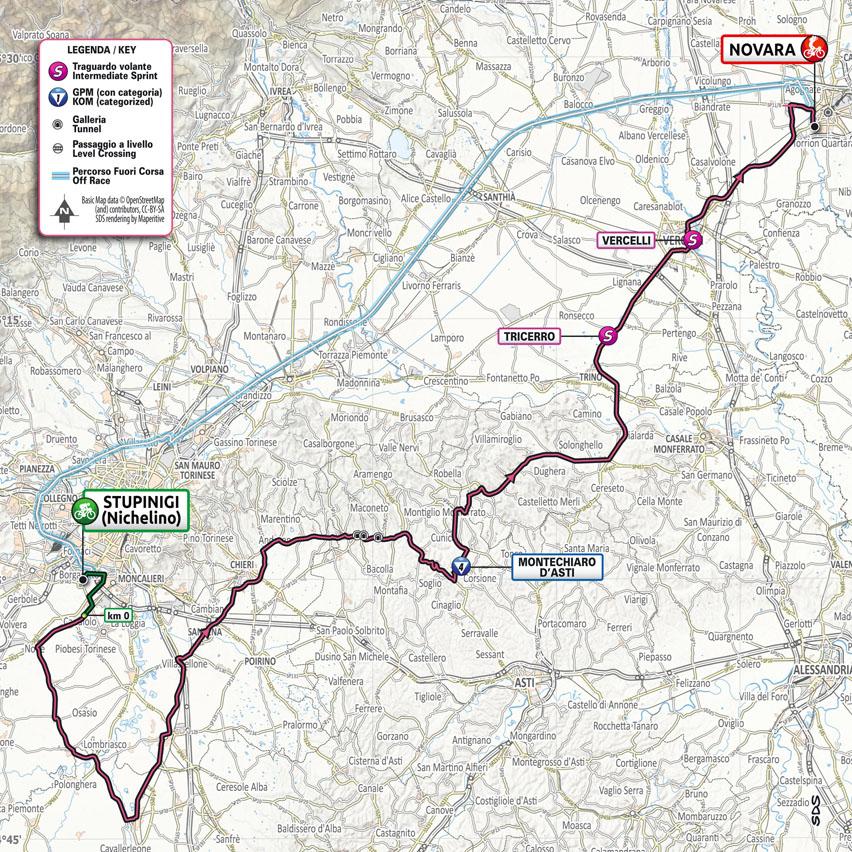 Giro d'Italia 9 maggio