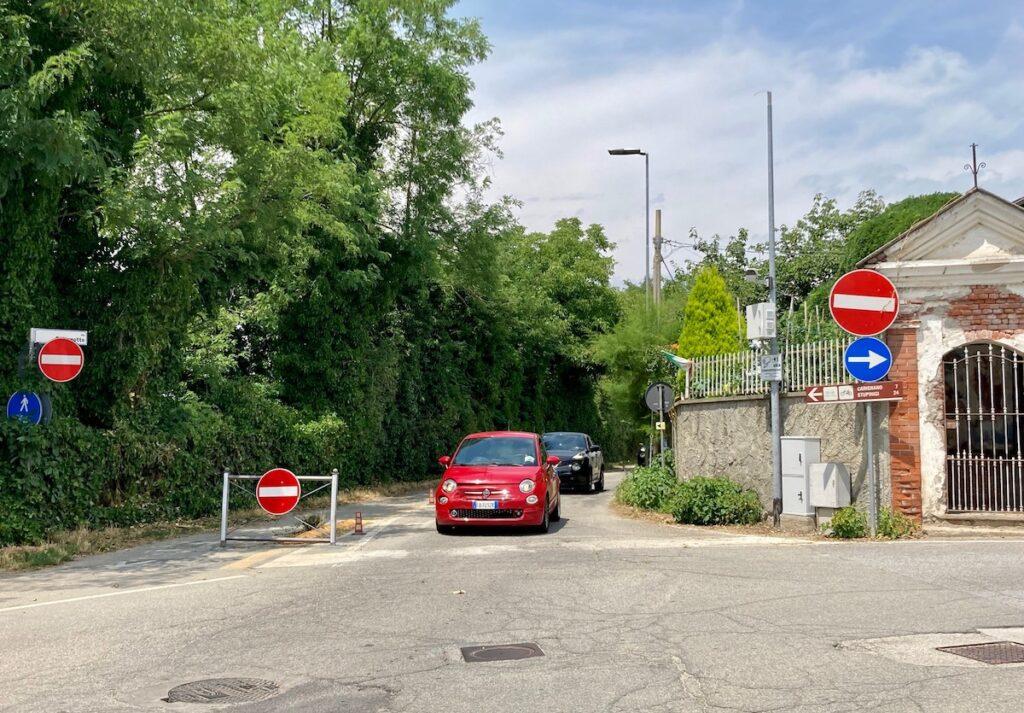 traffico San Michele carmagnola