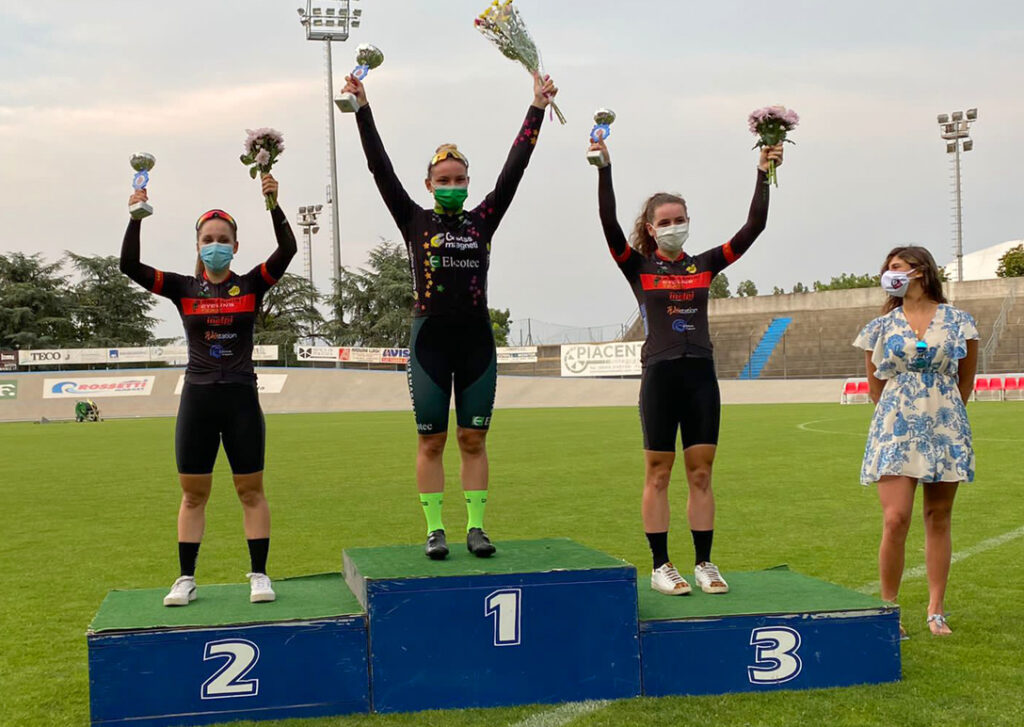 Racconigi Cycling Team podio