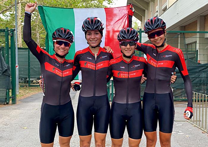 Racconigi Cycling campionesse
