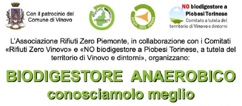 biodigestore rifiuti Vinovo